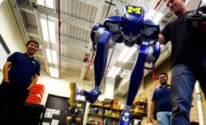 Robot Cassie Blue
